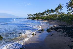 Mokapu Beach, Wailea, Maui, Hawaii by Douglas Peebles