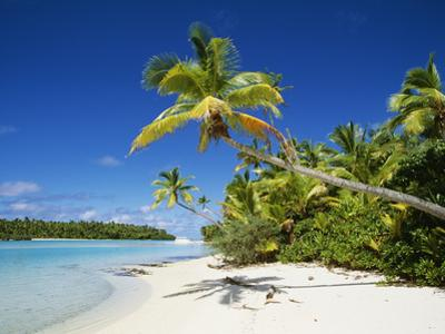 One Foot Island, Aitutaki, Cook Islands by Douglas Peebles