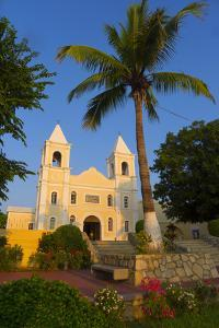 Parroquia San Jose Church, Mission Church, San Jose Del Cabo, Baja, Mexico by Douglas Peebles