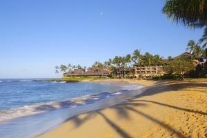 Poipu Beach, Kauai, Hawaii by Douglas Peebles