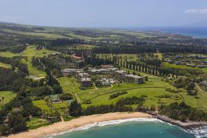 Ritz Carlton, Fleming Beach, Kapalua Resort, Maui, Hawaii by Douglas Peebles