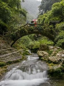 Shennong Stream, Hubei Province, Yangtze River, China by Douglas Peebles