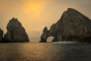 Sunrise, El Arco, the Arch, Cabo San Lucas, Baja, Mexico by Douglas Peebles