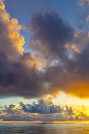 Sunrise, Moorea, French Polynesia by Douglas Peebles