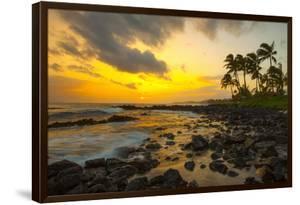 Sunset, Poipu, Kauai, Hawaii, USA by Douglas Peebles