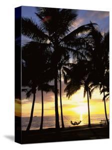 Sunset, Wailea, Maui, Hawaii, USA by Douglas Peebles