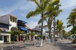 The Malecon, Puerto Vallarta, Jalisco, Mexico by Douglas Peebles