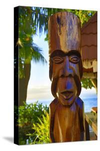 Tiki, Taveuni, Fiji by Douglas Peebles