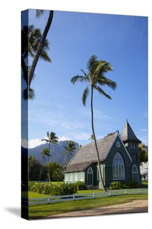 Waioli Church 1912, Hanalei, Kauai, Hawaii, USA