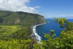 Waipio Valley, Hamakua Coast, Big Island, Hawaii, USA by Douglas Peebles