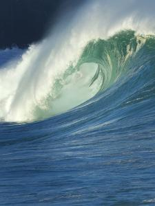 Wave, Waimea, North Shore, Hawaii by Douglas Peebles