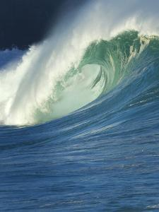 Wave, Waimea, North Shore, Hawaii by Douglas Peebles