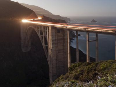 Bixby Bridge Along the Big Sur Coastline by Douglas Steakley
