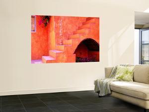 Hacienda Stair Detail by Douglas Steakley