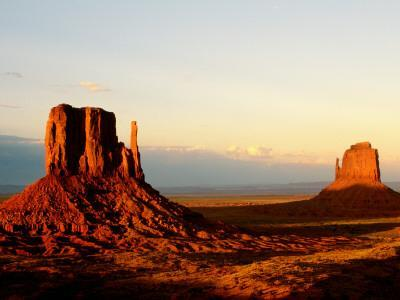 Monument Valley in Late Afternoon