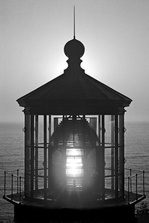 Cape Mears Lighthouse BW by Douglas Taylor