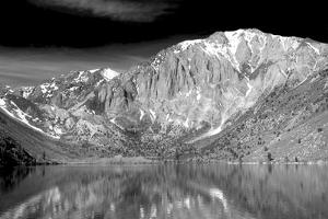 Convict Lake BW by Douglas Taylor