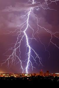 Lightning Portrait by Douglas Taylor