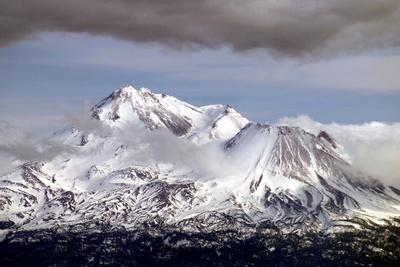 Mt Shasta Winter