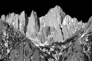 Mt Whitney BW by Douglas Taylor