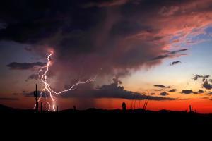 Twilight Lightning I by Douglas Taylor