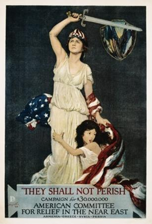They Shall Not Perish Relief Poster