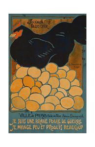 French Hen by Dovanne