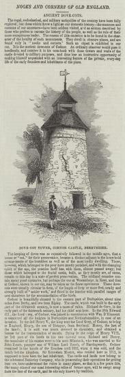 Dove-Cot Tower, Codnor Castle, Derbyshire--Giclee Print