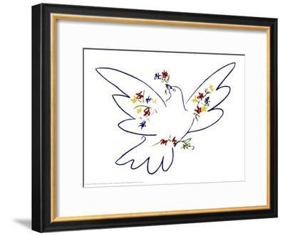 Dove of Peace-Pablo Picasso-Framed Art Print