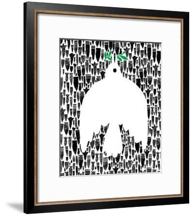 Dove of Peace-Melinda Beck-Framed Art Print