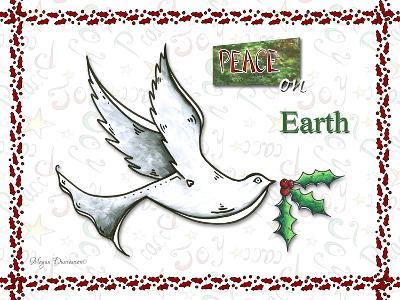 Dove Peace on Earth-Megan Aroon Duncanson-Giclee Print