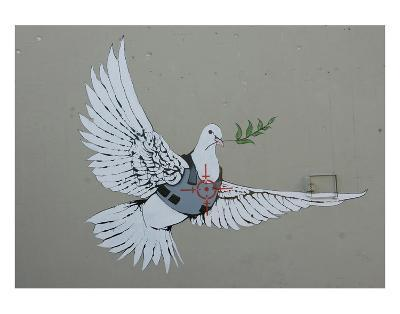 Dove-Banksy-Art Print
