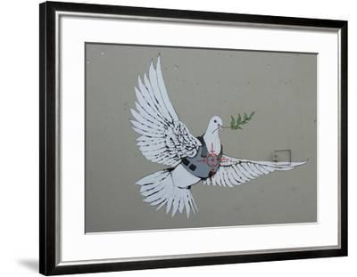 Dove-Banksy-Framed Giclee Print