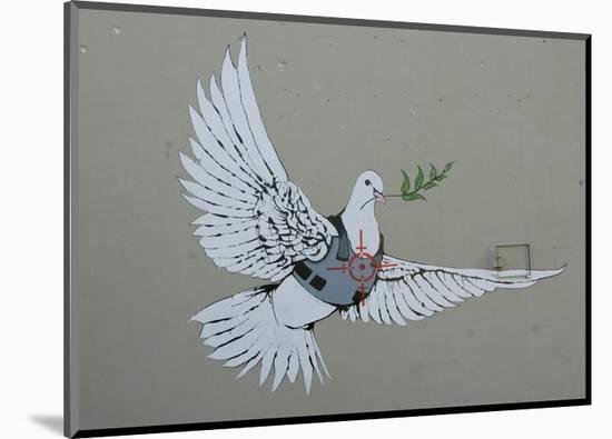 Dove-Banksy-Mounted Giclee Print