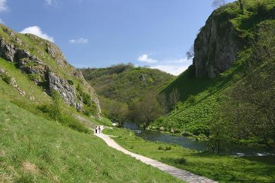 Dovedale, Derbyshire-Peter Thompson-Photographic Print