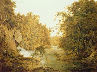 Dovedale, the Peak District-Joseph Wright of Derby-Giclee Print