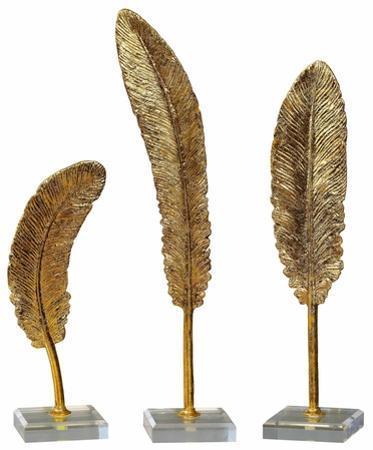 Dover Gold Feather Trio *
