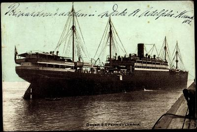Dover, Hapag, S.S. Pennsylvania, Dampfschiff--Giclee Print