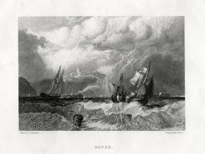 Dover, Kent, 1860-E Finden-Giclee Print