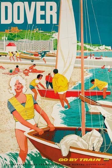 Dover, Poster Advertising British Railways, 1963--Giclee Print