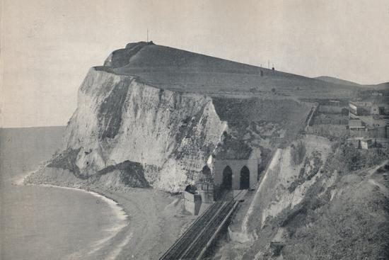 'Dover - The Tunnel in Shakespeare's Cliff', 1895-Unknown-Photographic Print