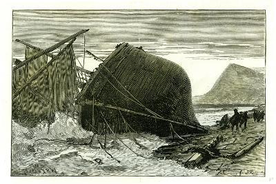 Dover U.K. 1887 Wreck of the Russian Vessel Joutsen--Giclee Print