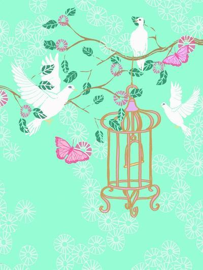 Doves, 2013-Anna Platts-Giclee Print