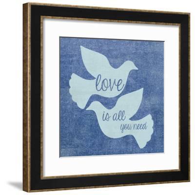 Doves-Erin Clark-Framed Giclee Print