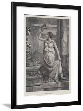 Doves--Framed Giclee Print