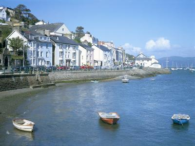 Dovey Estuary and Town, Aberdovey, Gwynedd, Wales, United Kingdom-David Hunter-Photographic Print