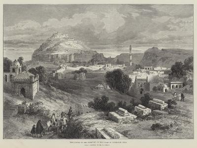 Dowlutabad, in the Territory of the Nizam of Hyderabad, India-William 'Crimea' Simpson-Giclee Print