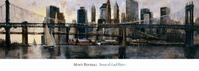 Down at East River-Marti Bofarull-Art Print