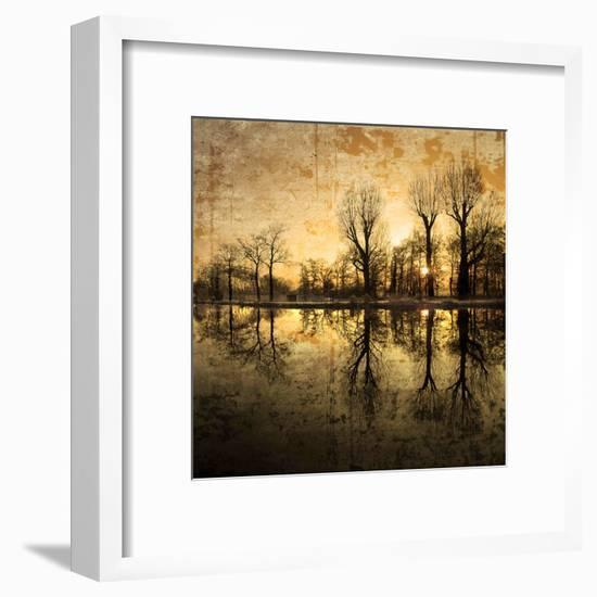 Down Deep into the Pain-Philippe Sainte-Laudy-Framed Premium Photographic Print