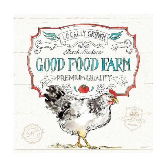 Down on the Farm V-Anne Tavoletti-Art Print